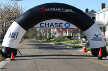 standard inflatable archway race arch event entrance finish line triathlon arch