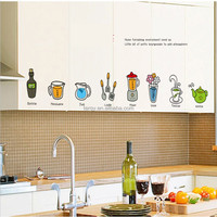 YISENNI Kitchen wall sticker door sticjer fuiniture wall sticker