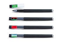 Shenzhen wholesale quality customize personalized logo printed promo pens/World Cup fan promotional pens