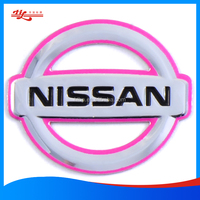Self-adhesive 3D Soft logo for Car Body Decoration
