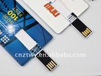 Free logo credit card usb pen drives