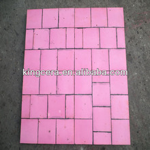 Ceramic and rubber composite lining for mineral benification(250*250*10mm)