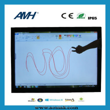 42'' LCD player AD, wireless portable LCD digital signage, interactive motion sensor ad display