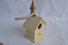 wooden house for bird living