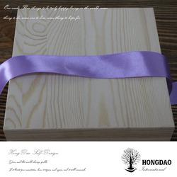 HONGDAO handmade custom wooden crates for essential oil