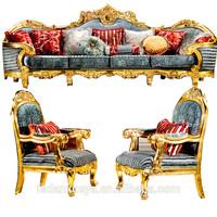 Danxueya- reclining chair classic armchair french antique gilded furniture