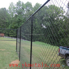 Anti grimper chain link fence
