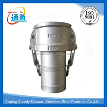 stainless steel 6 inch rubber pipe coupling fittings with manufacture