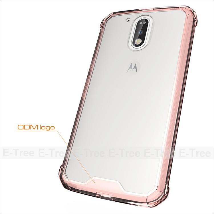 soft TPU phone back cover case for Motorola G4 Plus