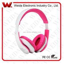 WD-W88 2015 Newest On-ear Headband Stereo Wireless and wired Bluetooth Handsfree Headset/headphone/earphone for iPhone/Sumsung