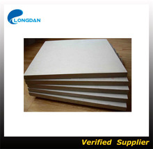 Standard size mdf board Fiber Cement Board price / 3d wall panel china wholesale