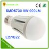 Dimmable long lifetime ra>85 9w 12v gu10 led b22 e27 220v led light bulbs for distributors