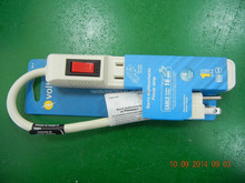 UL/ETL-Listed 4 Outlet Home/Office power strip