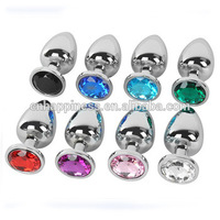 cheap stainless steel ass pussy toys jewelry sex anal plug