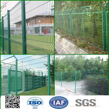 green color galvanized fence welded wire mesh