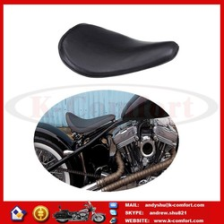 KCM433 Motorcycle Cushion Synthetic Leather Solo Seat Fits For Harley Chopper Bobber Sportster For Honda For Yamaha For Suzuki K
