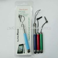 Retractable stylus pen for iPad Mini with glitter