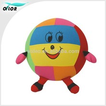 Hopper Ball with Animal-like Fabric Cover, Measures 18-inches