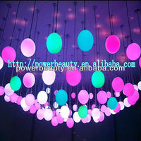 2013 best selling cheap 60cm color changing waterproof PE led magic ball light with rechargeable battery&switch control