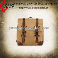 2014 Fashion and high-quality canvas backpack hiking bag backpack laptop bags