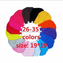 Can be customized size 19*19cm 32colors baby hat cotton cap 15001