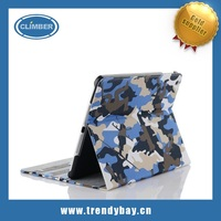 Camo stand cover for ipad 2 3 4 5 mini leather case