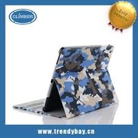 Camo stand cover for ipad 2 3 4 5 mini leather case