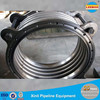 Large diameter pipe metal bellows compensator for water supply pipeline