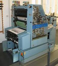 OFFSET MACHINE M.A.N ROLAND