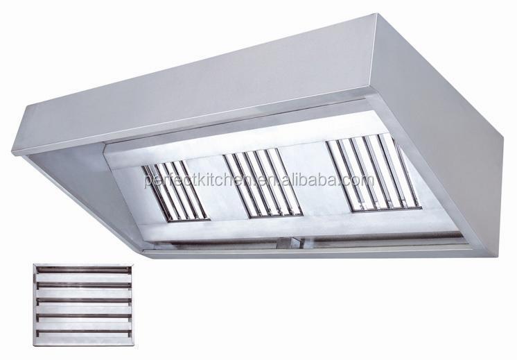 Restaurant Kitchen Hoods Stainless Steel ~ Stainless steel commercial kitchen extractor hood