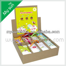 Flower Seed Paper,Card With Flower.Festivel Gift.