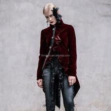 Devil fashion 2015 ladies gothic jacket CT00702