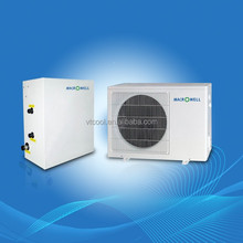 heat pump water heater inverter split type for house heating and air conditioning