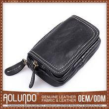 Hot Sell Nice Design Custom Color Italian Leather Coin Purse