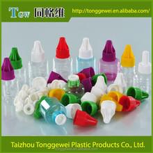 Plástico garrafa e-líquido com segurança para crianças e inviolável cap made in china / venda quente de plástico garrafa e líquido de importação mercadorias da china