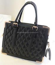 2015 Guangzhou fashion female genuine leather handbag/totebag/shoulder bag