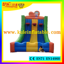 2015 Kule inflatable sport games giant inflatable basketball game for kids outdoor toys for sale
