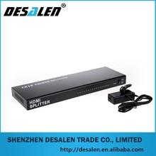 HDMI coaxial distribution amplifier 1x16 HDMI Splitter in low price hdmi splitter to coaxial