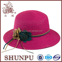 Promotion paper straw hat,new design paper fashion hat