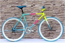 High quality 700C fixed gear bicycle/ track bicycle/fixie bike with personal specification and colors you can choose