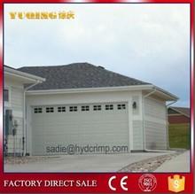 YQG-01 electric garage doors, stainless steel grill door design