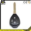 ablcs black toyota key shell for car remote key fake car key 3 button 01023