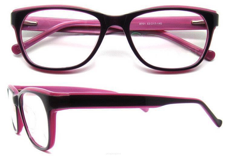 Monturas ópticas de nuevo estilo de moda acetate para mujer nueva ...