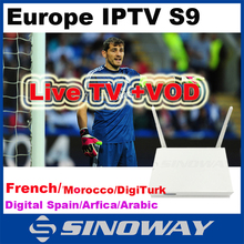 Free Test 1 year Europe account enjoy 650 + channels by QHDTV support Android, XBMC Engima2 Stability include hd sport iptv