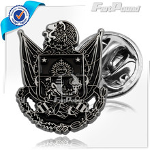 The Antique- color with eagle shape safety lapel pins