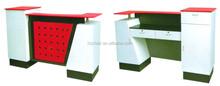 modern fashion 2015 style double reception desk; cheap reception table
