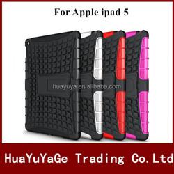 Hybird TPU&PC Kickstand Combo phone cases cover for Apple ipad 5 ipad air