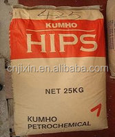 Sell high impact polystyrene hips virgin/recycled bulk plastic pellets