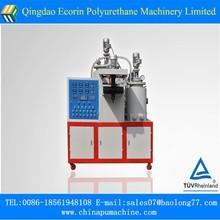 Elastomer low pressure polyurethane casting machine for inline skate wheels/rolling roller/button