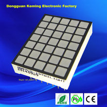 3.45x3.45mm 5x7 dot matrix square, blue color made of Epistar LED chips